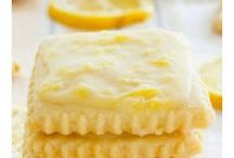 DESSERTS AU CITRON / A base de Citron, j'adore ;-)