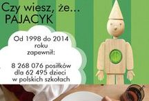 PAJACYK! DZIAŁAJ Z NAMI DLA DZIECIAKÓW! / Tutaj możesz przeczytać co nowego u Pajacyka. Pajacyk to program dożywiania dzieci w szkołach i świetlicach w Polsce oraz krajach, w których dostęp do żywności jest bardzo ograniczony. Wejdź na www.pajacyk.pl, by dowiedzieć się więcej.
