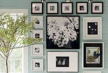 Framed Wall Art / Put art on a wall!!! Decorate your bare walls with art.