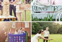 wedding outdoor decorations & lawn games