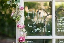 wedding seating / Move your feet, lose your seat.
