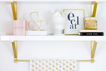 Dorm Room Decor / Space saving and decor tips for your dorm room and college life!