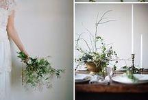Botanical Inspired Wedding