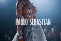 Paolo Sebastian 2016 A|W Couture / The Snow Maiden www.paolosebastian.com