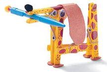 ПРИЩЕПКИ в развитии детей и творчестве/ Clothespin in the development of children and creativity