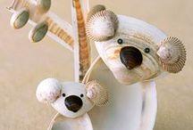 Детские поделки из РАКУШЕК/ Kids crafts made of shells