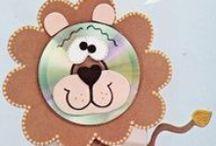 Детские поделки из ДИСКОВ/ Kids crafts from DISC
