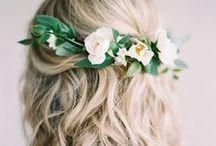 Stunning Hairstyles / No matter what colour your hair is, how long it is, or how good you are at taming it, we've got heaps of amazing photos to inspire you to get that mane ready for your wedding day!