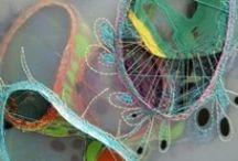 fiber art,textile & quilts