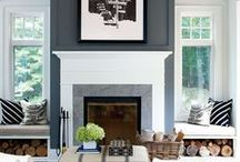 Living rooms, Libraries & Fireplaces