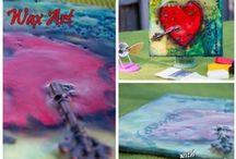 Encaustic art & mixed media