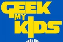 Geek My Kids a Southgate Media Group podcast / A family pop culture podcast where a geek dad teaches his kids to follow in his geek footsteps.
