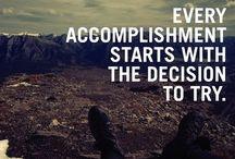 Motivation / Dépassement de soi, bien être, accomplissement...