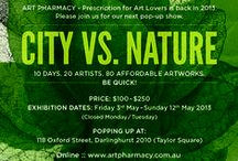 City vs. Nature Popup Show / Popup