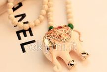 necklaces    Collane / Accessories and trendy necklaces are always a good companion of clothing.
