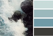Shades of Gray / Not what you are thinking: Decorating with color schemes