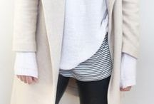 {Style} Winter outfits / style inspiration for cozy winter and fall layers // boho + minimal