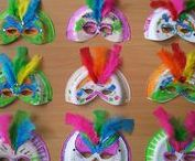Lesidee: Carnaval / De allerleukste les- en knutseltips rondom het thema Carnaval.