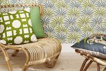 Palmes Exotiques / Fabrics, wallpapers & wallcoverings 2015  Nobilis Collection
