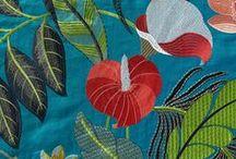 Broderies de jardin / Fabrics Collection NOBILIS