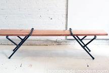 PVC & metal pipe