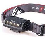 Frontal recargable BAT / Frontal BAT, con 180 lúmenes reales para hacer running o ciclismo.