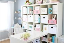 sewing craft room ideas / by shamrocknanna