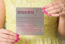 • Menu Design • / menu design, menus, wedding, shower, event, luxury design, event, holiday party, baby shower, rehearsal dinner, bridal shower, reception menu, reception