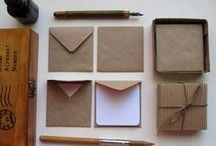 Paper Stories / Stationaries and desk organizers to keep work in the work station neat, cute and tidy