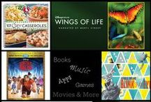 Books, Movies, Music & Apps / All of our favorite Books, Movies, Music and Apps!