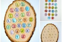 Alphabet / learning letters, alphabet activities for kids, early childhood education activities, ECE activities, lessons to learn the alphabet, learn at home, learn the alphabet, phonics