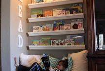 Bookshelf Love / bookshelves