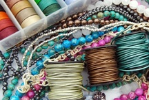 Creative with stuff to make jewelry / by Margo Sengers