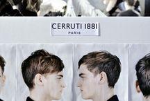 BACKSTAGE // CERRUTI 1881 Paris FW 13-14