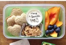 School Lunches / school lunch ideas and menus. lunch boxes, snack ideas, picky eater ideas / by Melissa Taylor @ImaginationSoup