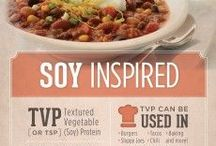 #SoyInspired / We are inspired by the nutritional powerhouse, and versatile, soybean!  The #soyinspired campaign is designed to put out solid, factual information on the soybean and to share simple ways to incorporate healthy soyfoods into your diet.