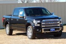 Ford Trucks / The legendary Ford F-Series trucks have been the best selling truck in America for 37 years running at the time this board was created. The new 2015 F150 is poised to continue this trend. / by Joey Abna