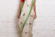 White indian outfits