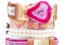armbanden/bracelets / armbanden zelfmaken  / by Wendy Botbijl
