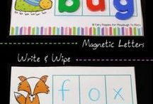 Word Families / activities and lesson plans to teach kids word families