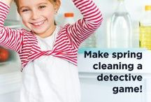 Spring Cleaning Secrets! / Our favorite tips and tricks to get the whole fam in on Spring cleaning! / by French Toast