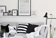 Contemporary Black + White Affair / Our favorite black and white contemporary designs and decor. / by CORT Furniture