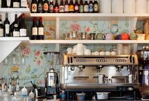 Sitios / Little cafes, restaurants and kitchens, perfect for tomando algo.