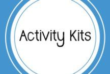 Activity Kits / Check out these printables for mazes, matching games, and so much more!