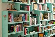 Bookcasing / Our bookshelf daydreams.