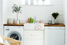 { home } laundry room