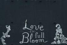 Chalkboard wed