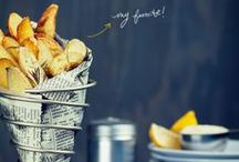 recipes: potato / potato recipes: french fries, roast potatoes (...)