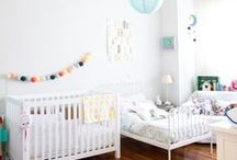 { home } shared baby + toddler bedroom