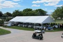 Tents, Tents, Tents / Tents used at parties and special events
